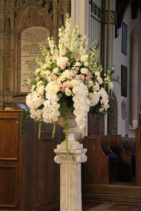 ideas  church flower arrangements