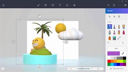 3d Paint Windows Microsoft Things Interface User