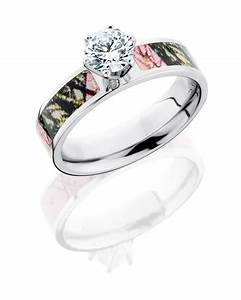 Camo diamond wedding rings for her diamond camo for Country girl wedding rings