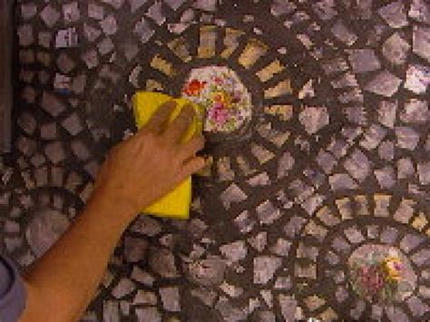 grouting mosaic tile how to create a china mosaic backsplash hgtv