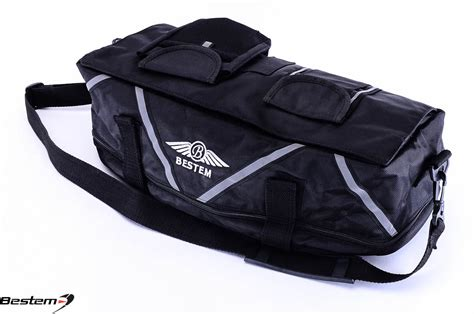 Bmw K1200lt Expandable Trunk Rack Bag, Black
