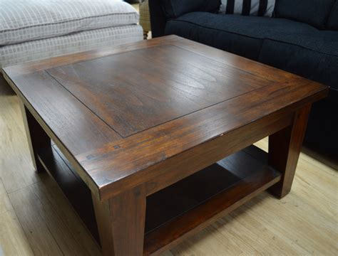 Classic Murano Dark Wood Square Coffee Table Sold Kings