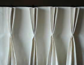 Double Curtain Rod White by Triple Pinch Pleat The Lovely Lifestyle