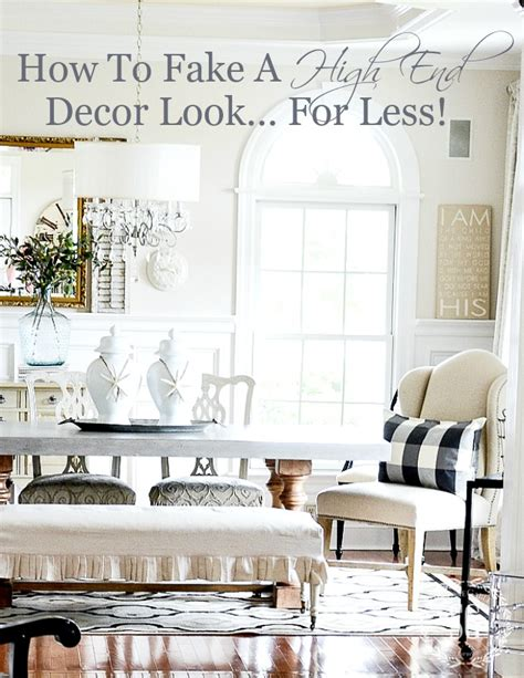 High End Wall Decor by How To A High End Decor Look For Less Stonegable