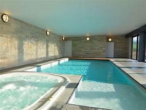 luxueux chateau avec piscine interieure jacuzzi sauna et With location maison avec piscine interieure