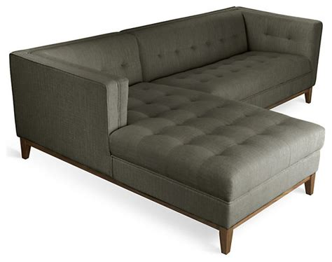 atwood sectional sofa by gus modern modern sectional