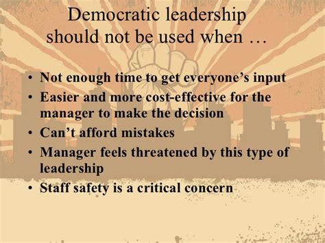 Democratic leadership style essays jpg 728x546