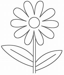 Simple Flower Drawing Simple Flower Drawing Ideas Draw ...