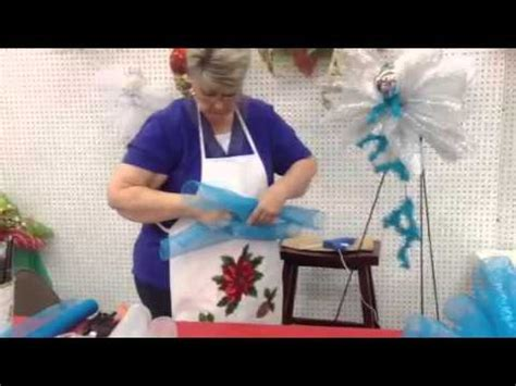 angel    deco mesh ribbon youtube