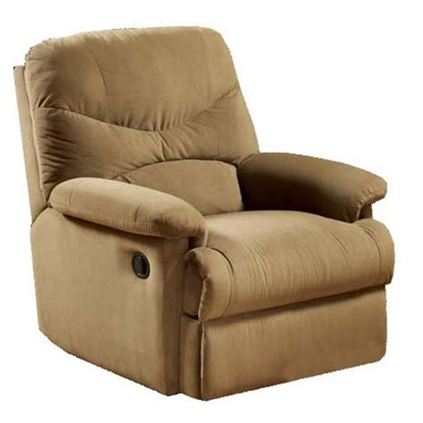 Microfiber Recliner by Balance System 174 Harmonic Microfiber Recliner