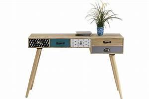 Bureau Vintage Pas Cher : bureau style scandinave capri design sur sofactory ~ Teatrodelosmanantiales.com Idées de Décoration