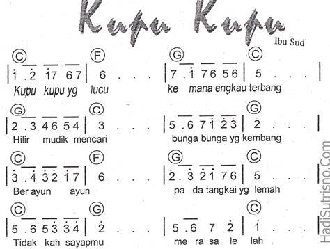 not angka lagu not angka lagu terbaru 7 koleksi not angka lagu anak anak not angka lagu terbaru