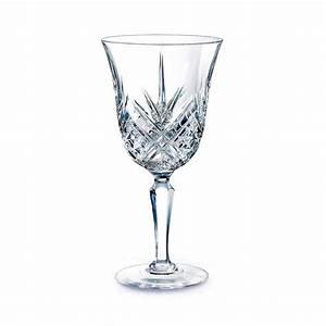 Verre En Cristal Prix : cristal d 39 arques masquerade coffret de 6 verres eau 25cl transparent brandalley ~ Teatrodelosmanantiales.com Idées de Décoration
