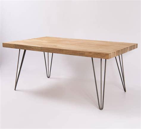 Oak And Steel Coffee Table By Oakdene Designs