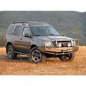 Nissan Xterra Front Winch Bumper    Deluxe Bull Bar By Arb