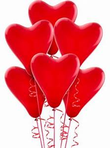 Red Heart Balloons 6ct - Party City  Heart