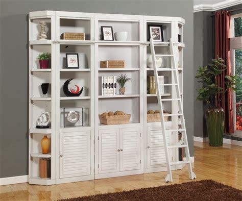 smart bedroom storage wall desk  bookcase white
