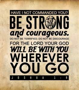Joshua 1 9 Bible Verse Wallpaper