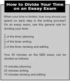 essay writing tips for ged