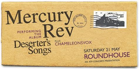 Mercury Rev Performing Deserter's Songs + Chameleonsvox
