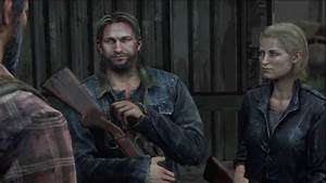 Joel And Tommy Brother Reunion Cutscene The Last Of Us