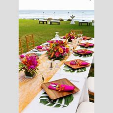 Tropical Theme For Your Summer Wedding  Butterfly Event