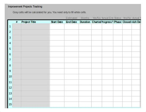 project tracking template excel free project tracking template 11 free word excel pdf documents free premium templates