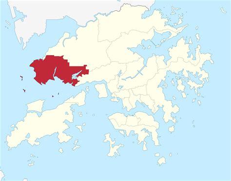 File:Hong Kong Tuen Mun District locator map.svg ...