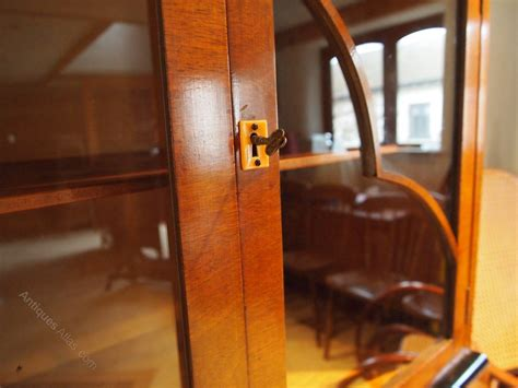 cloverleaf home interiors cabinet display drinks deco walnut c1930 antiques atlas