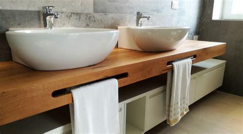 mensola per lavabo mobile bagno doppio lavabo con mensola in legno