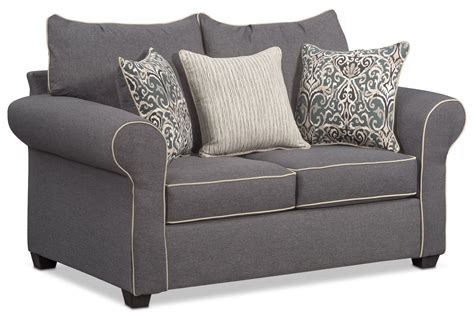 Charming Carla Queen Memory Foam Sleeper Sofa And Loveseat