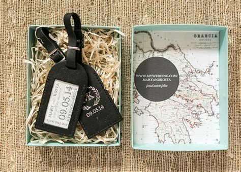 mary kosta s luggage tag save the dates