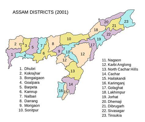 fileassam districts svg wikipedia