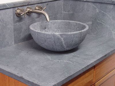 Soapstone Bathroom Countertop by Soapstone Bathroom Sinks Integral And Vessel