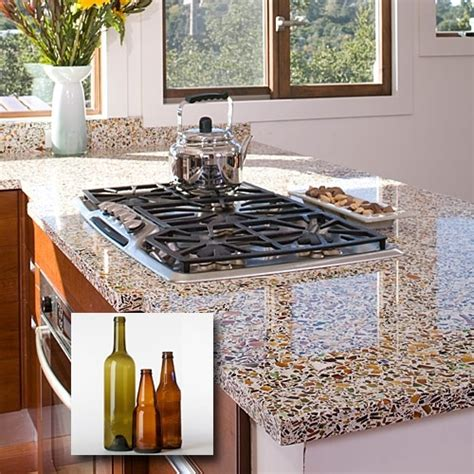 tile for countertops in kitchen 17 best images about eco friendly countertops on 8486