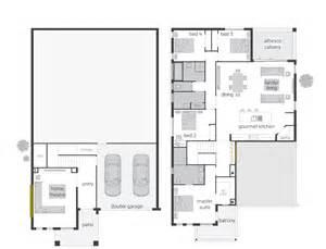 Harmonious Split Level House Floor Plans by Highlands Act Floorplans Mcdonald Jones Homes