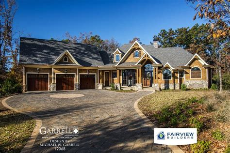 garrell associates incamicalola cottage house plan  rustic house plans mountain style