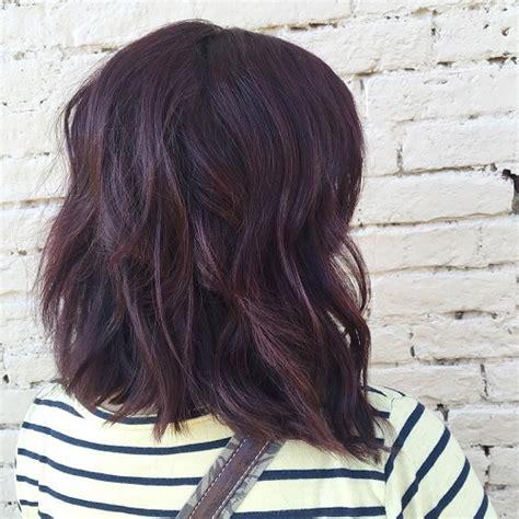 mahogany violet hair color it s all the rage mahogany hair color