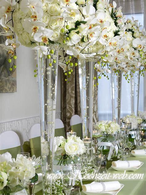 Blumen Hochzeit Dekorationsideenhochzeit Deko Fuers Boden by Hochzeitsdekoration Vasen Vase By Hochzeit Web