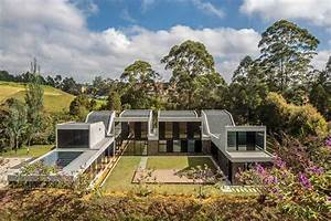Plan B Organizes Colombian House As Four Connected