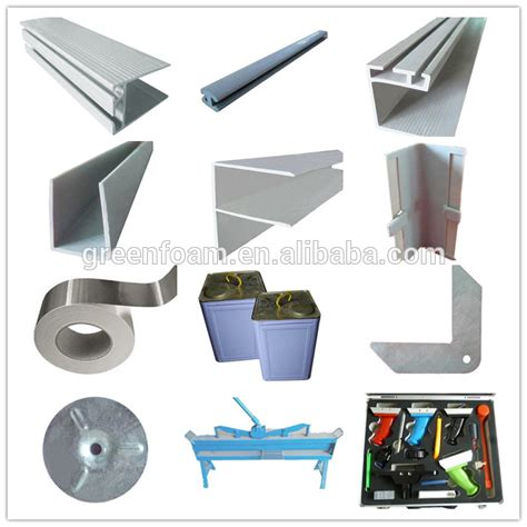 ac duct supplies pvc profile pre insulated havc duct accessories pvc