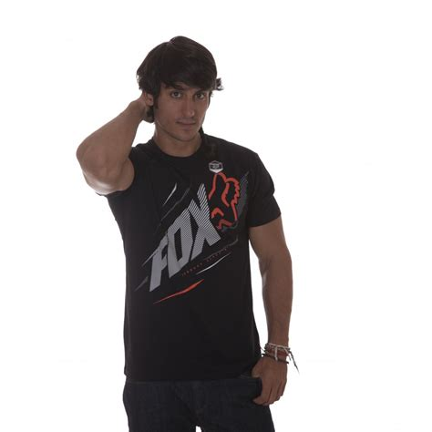 fox racing t shirt shock point superior bk buy
