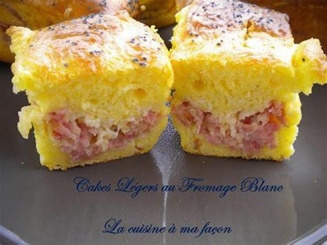 recette cake leger au fromage blanc