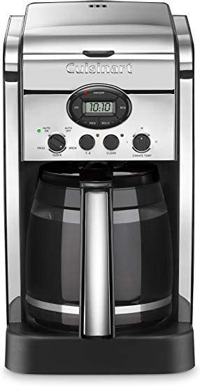 Time to take the carafe construction out, and then fill water and distilled vinegar solution within the carafe. How to clean a Cuisinart coffee maker - Quora