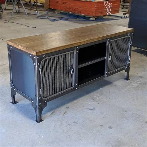 7,000+ vectors, stock photos & psd files. Carnegie Media Console - w/legs & wood top - Modern Industrial Furniture