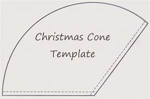 sewforsoul christmas gift cone tutorial With template to make a cone