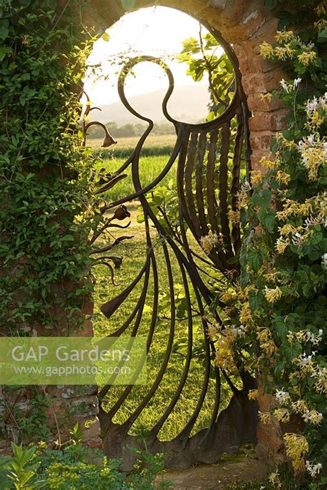 gap gardens  angel gate   walled garden
