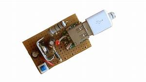 How To Create Easy Mobile Phone Charger Circuit Using With