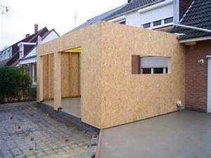 extension bois prix m2 maison bois prix au m2 prix maison With prix veranda 20 m2 terrasse