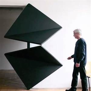 Ingenious door opens and closes like folded paper colossal for Ingenious kinetic doors by klemens torggler fold open and closed like origami